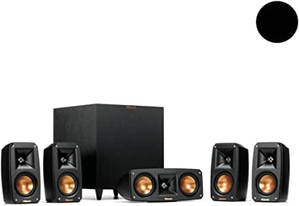 Klipsch Reference Theater Pack 5.1 - Altavoz, negro: Amazon.es ...