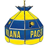 NBA Indiana Pacers Tiffany Gameroom Lamp, 16''