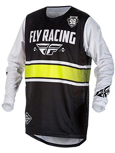Fly Racing Black-White 2018 Kinetic Era Mx Jersey (Xl , (Fly Racing Mx)