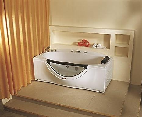 Vasca Da Bagno Acrilico Opinioni : Jacuzzi bianco vasca da bagno whirpool modern home design spa