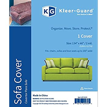 Phenomenal Kleer Guard Enhanced Strength 2 Mil Sofa Cover Help Protect Your Furniture Against Dust Spills And Stains Fits Sofa Up To 100 Wide Gmtry Best Dining Table And Chair Ideas Images Gmtryco