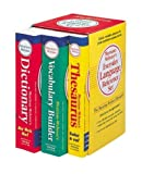: Merriam-Webster's Everyday Language Reference Set: Vocabulary Builder/Thesaurus/Dictionary