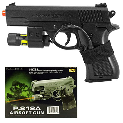 CYMA Combat Delta P.812A Spring Power Airsoft Pistol