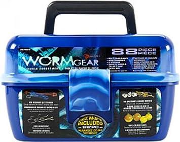 South Bend Wormgear Tackle Box-88 Piece (Blue)  sc 1 st  Amazon.com & Amazon.com : South Bend Wormgear Tackle Box-88 Piece (Blue ... Aboutintivar.Com