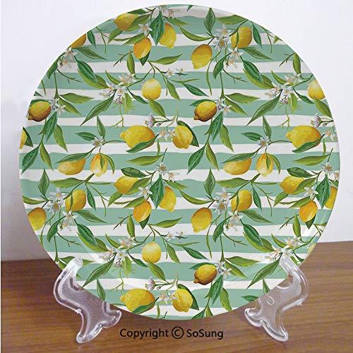 Salad Plate Tree Lemon - SoSung Nature 8