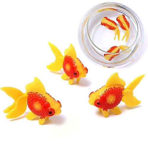 cocostore-3pcs-aquarium-fish-tank-plastic-swimming-faux-fake-gold-fish-decoration-ornament