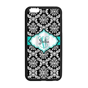 Tt-shop Custom Floral and Add Your Name 02 Pattern For iPhone6 Plus (Laser Technology) DIY-42