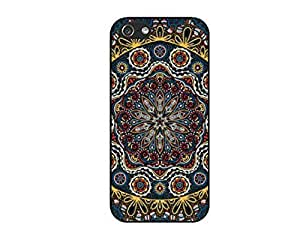 SUUER Mandala floral Personalized Custom Plastic Hard CASE for iPhone 5 5s Durable Case Cover by lolosakes