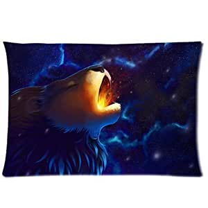 Game of Thrones Roaring Lion Custom Design Personalized Pillowcase Pillow Sham Pillow Cushion Case Cover Two Sides Printed 20x30 Inches