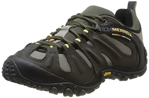 Merrell Men's Chameleon Slam II Walking Shoe, Orange - 11.5 D(M) -