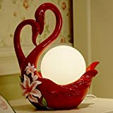 HOMEE Ideal reading light-- creative resin desktop decoration table lamp send a friendfriend to marry a gift bedroom table lamp --desk and bedside lighting,1