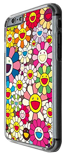 1313 - Cool Fun Trendy cute kwaii colourful flowers peace daisys Design iphone 5 5S Coque Fashion Trend Case Coque Protection Cover plastique et métal - Clear