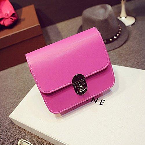 Leather Girl Small Malloom® Handbag Hot Messenger New Bag Pink Fashion Mini Shoulder Adjustable Lovely SxSgHUA