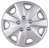 "Drive Accessories KT-957-15S/L, Honda Accord, 15"" Silver Lacquer Replica Wheel Cover, (Set of 4)"