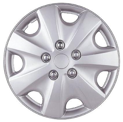 14 Silver Lacquer Replica Wheel Cover, Set of 4 Drive Accessories KT-957-14S//L Honda Accord