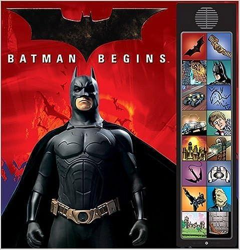 Batman Begins: Deluxe Sound Storybook