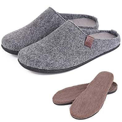 LB LONGBAY SINCE 1997 Mens Comfortable Grey Size: 13-14