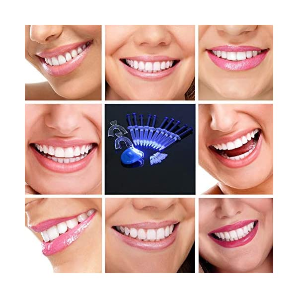 Equipo dental portátil profesional, 10 piezas, dientes blancos, sistema de blanqueamiento dental, blanqueador, kit de… 8