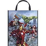 Unique Large Plastic Avengers Favor Bag, 13-Inch X 11-Inch