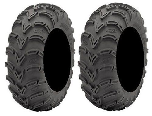 Pair Lite 6ply Tires 25x8 12