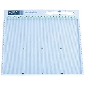 Scor-Pal Eights Measuring & Scoring Board, 12 by 12-Inch, Space Grooves