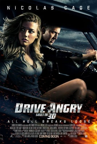 Drive Angry - 11X17 Original Promo Movie Poster Mint Nicolas Cage