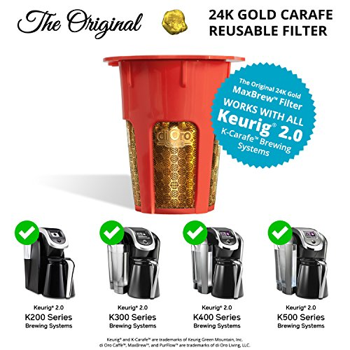 MaxBrew-24K-Gold-Reusable-K-Carafe-Filter-for-Keurig-20-K-Cup-Reusable-4-5-Cup-Carafe-Filter-for-Keurig-20
