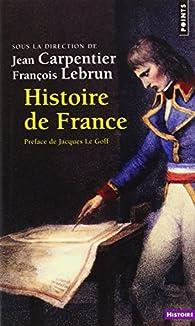 Histoire de France par Jean Carpentier