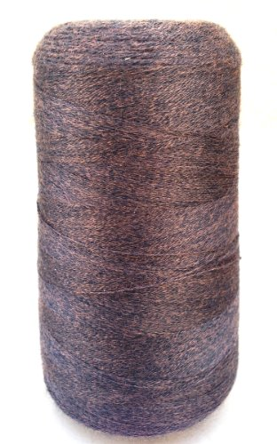 - Yarn Place Heaven Yarn Cone Lace Wt. Tencil/Merino 125g 3200 yds Cone Black Gold #02-04