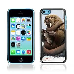 Designer Depo Hard Protection Case for Samsung Galaxy Note 3 N9000 / Walrus Warrior & Fish