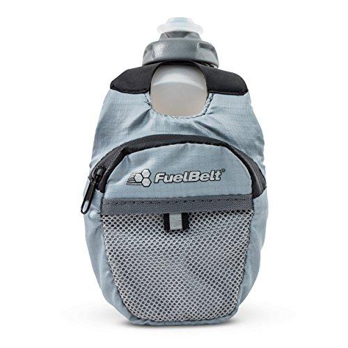 FuelBelt Fuel Pack Hand-Held Running Water Bottle with Storage, 10 oz
