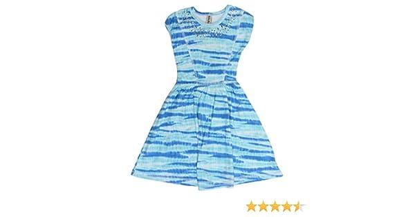 5                             I-6 Size Mignone Girls Sleeveless Dress Aqua