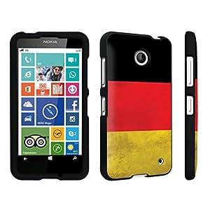 DuroCase ? Nokia Lumia 630 Hard Case Black - (Germany Flag)