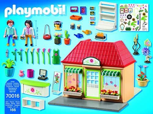 PLAYMOBIL City Life 70016 Mein Blumenladen, Ab 4 Jahren