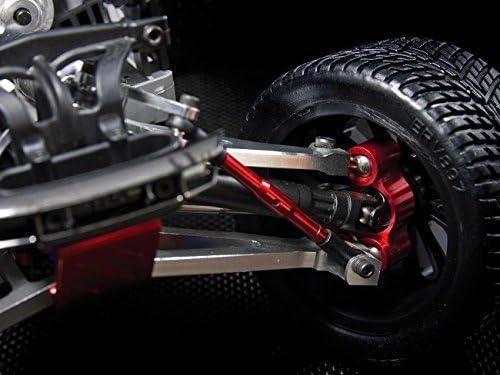 4PCS Set Aluminum Front /& Rear Knuckle Arm Blue for 1//16 Mini E REVO Summit Slash Rally