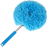 round broom - Sunroom Webster Microfiber Cobweb Hand Duster Telescoping 48