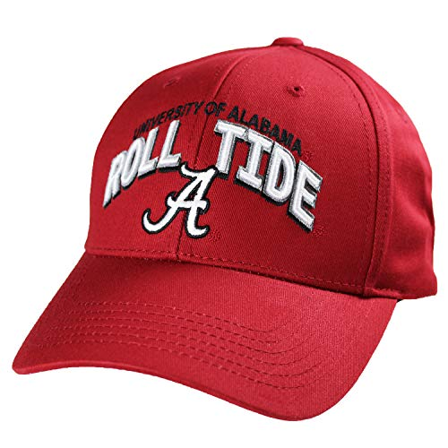 Top of the World Alabama Crimson Tide Official NCAA Adjustable Curved Bill C Deal Hat Cap 258577