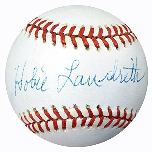 hobie-landrith-autographed-signed-official-nl-baseball-cardinals-psa-dna-certified-baseball-slabbed-
