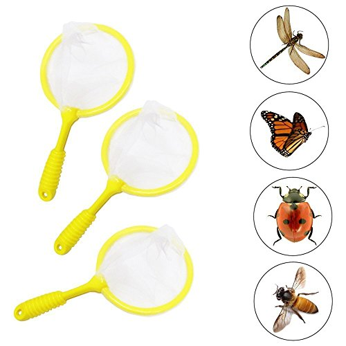 Toy Cubby Net Bug Catcher - Mega Pack of 6 - Insect Collector for Specimen Observation - Animal Science - Exploring Insect Types and Habitat.