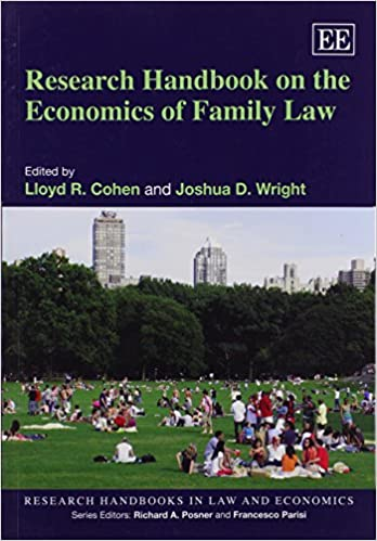 Télécharger le format ebook djvu Research Handbook on the Economics of Family Law (Research Handbooks in Law and Economics Series) (French Edition) PDB