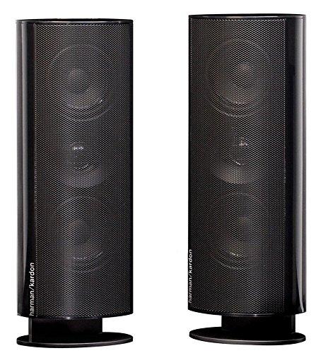 Harman Kardon HKTS 30 Satellite Speakers 30SAT-2 (Pair, Black)