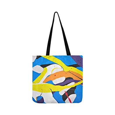 Amazon Com Abstract Acrylic Modern Painting Fragment
