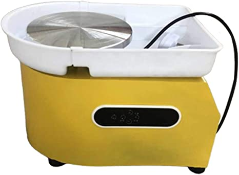 Blue Mein LAY Updated 350W LCD Pottery Wheel Machine with Removable Basin 11 Tools and Pedal for Ceramic Work Clay Art Craft