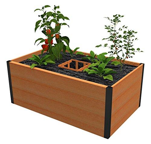 Vita Gardens VT17000 3x5 Composting Composite Raised Garden Bed