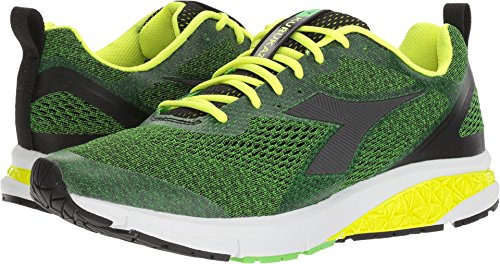 Diadora  Men's Kuruka 2 Green Fluo/Black Athletic Shoe