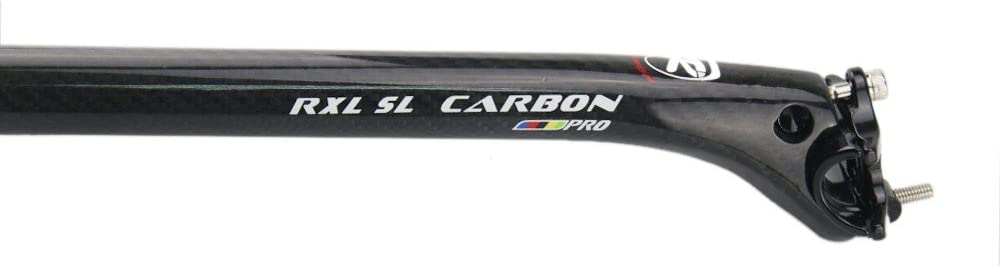 RXL SL Carbon Seat Post Road Bicycle Carbon Fiber Seat Posts Mtb 25.4//27.2//30.8//31.6mm Offset 25mm 3K Matte//Glossy Mountain Bike Seatpost