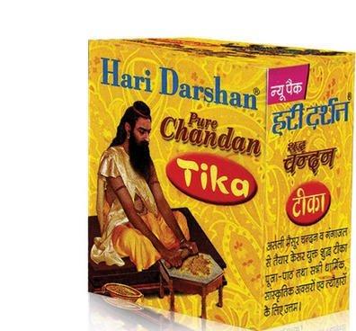 80 gms Pureサンダルウッド貼り付けChandan Tikka Pure Hari Darshan供養Prayers B0762LFTL9