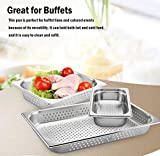 """4"""" Deep Perforated Steam Table Pan Full Size ,14"""