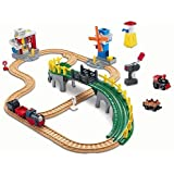Geo Trax Working Town Railway System with exclusive bonus