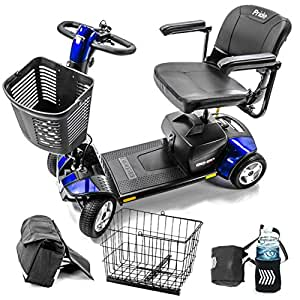 Pride Mobility Go-Go Sport 4-wheel Electric Travel Scooter Heavy Duty S74